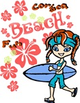 Girl Beach 04