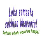 WORLD BE HAPPY MANTRA