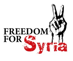 Victory for Syria T shirts, buttons and stickers