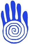 Sacred Hand - Blue
