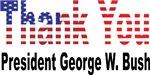 Thank You President George W Bush