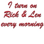 I turn on Rick and Len
