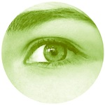 Green spring eye - Lore M's art -