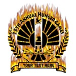 Personalized Catching Fire 75th Hunger Games