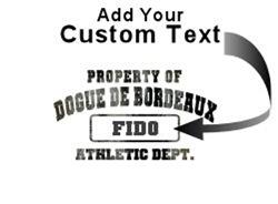 Customizable Property of Dogue de Bordeaux