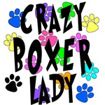 Crazy Boxer Lady