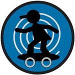 Skateboarder Kid