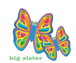 3 butterflies big sister