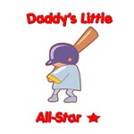 Daddy's little All-Star with star