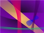 A Free Purple Abstract Space