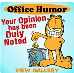 Garfield Office Humor T-Shirts, Mugs & More