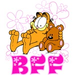 BFF Garfield & Pooky