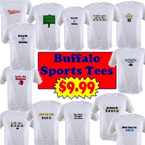 Buffalo Fan T-Shirts Under $10!