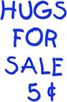 Hugs for sale (Blue)