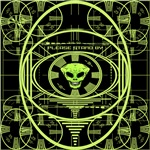 ALIEN TEST PATTERN GREEN