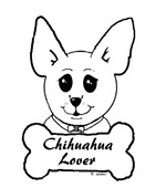 Chihuahua Lover Sketch