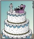 Wedding cake Recliner chair