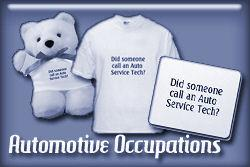 Automotive Occupations T-shirts and Gifts