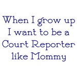 I Want To Be A Court Reporter