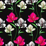 Pink & White Floral Pattern