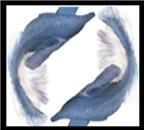 Blue Fish Circle