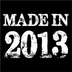 Made In 2013 BIRTHDAY Gift Year of Birth