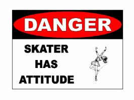 Danger Skater Has Attitude