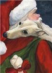 Greyhound and Santa