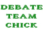 Debate Team Chick