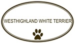 Oval <strong>West</strong><strong>highland</strong> <strong>White</strong> <strong>Terrier</strong>