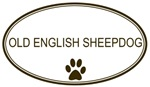 Oval <strong>Old</strong> <strong>English</strong> <strong>Sheepdog</strong>
