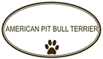 Oval American Pit <strong>Bull</strong> <strong>Terrier</strong>