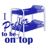 I prefer to be on top