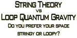 String Theory vs Quantum Loop Gravity