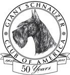 Giant Schnauzer Club of America Logo