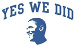 Yes We Did (Obama Face)