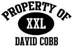 Property of David Cobb