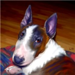 Bull Terrier Art Prints