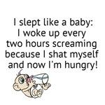 Slept like a baby