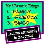 Favorite Things-Bingo