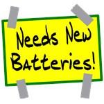 Needs New Batteries