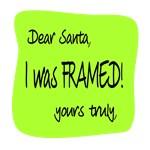 Santa/Framed