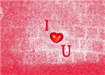 I Heart (Love) You Red