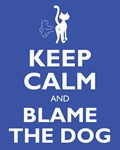Blame the dog Shirt
