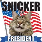 Snicker for President