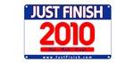2010 - Just FINISH bib