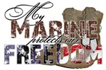 My Marine Protects Our Freedom