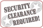 Security Clearance Required