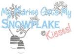 Marine Get's Snowflake Kisses