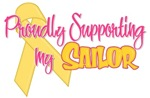 Proudly Supporting My Sailor